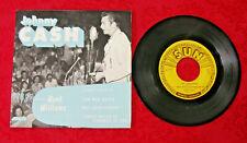 Johnny Cash Sings Hank Williams 45rpm Sun Records EPA-111 Excellent