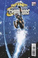 Infinity Countdown Champions #1 Deodato Variant (Marvel, 2018) NM