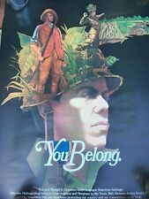 Original 1975 Us Government Printing Office You Belong Poster 36th Division