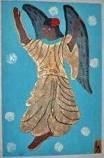 Leroy Almon Sr. Guardian Angel Painting (1990)
