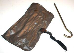 88 89 90 91 Honda Civic & CRX & others OEM Brown Tool Bag Kit w Jack Hook Rod