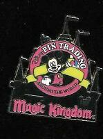 Cast Lanyard Series 3 Logo Collection Magic Kingdom Mickey Disney Pin 40630