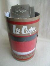 Lee Cooper Canvas Webbing Belt Set - Red,White,Blue Trio with Buckle, Unused