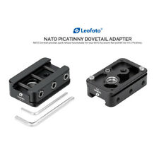 Leofoto GS-1 Nato Picatinny Dovetail Arca-Swiss Mount Adapter