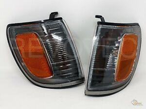 Black Corner Signal Lights For 1996-2002 Toyota 4Runner