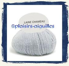 10 pelotes de laine CHAMEAU SOURIS Neuve