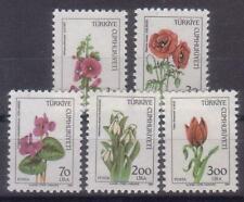 TURKEY 1984 WILD FLOWERS MNH C1492
