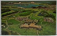 ORLANDO FL A World Of Golf Awaits You WALT DISNEY WORLD Orange County Postcard