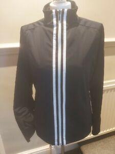Ladies Black adidas Sports Jacket