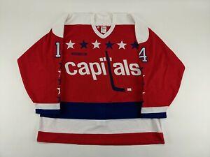 1993-94 Washington Capitals Pat Peake GAME ISSUED Hockey Jersey