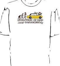"""Triumph Dolomite Sprint """"Evolution of Man and Machine - Carwash"""" t-shirt"""