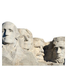 MOUNT RUSHMORE MONUMENT Presidents CARDBOARD CUTOUT Standee Standup Poster Prop