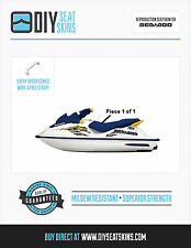 GSI GS RX SEA DOO BLUE Seat Skin Cover 97 98 99 00 01- FREE EMAILED PDF MANUAL!!
