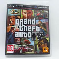 GRAND THEFT AUTO IV GTA 4 Version FR pour Playstation 3 PS3 Complet Francais