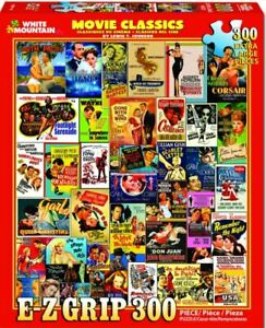 "White Mountain Movie Classics 300 piece jigsaw puzzle 18"" x 24"""