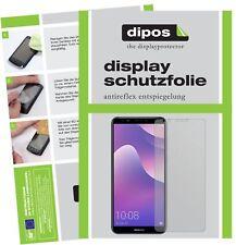 2x Huawei Y7 Prime (2018) Film de protection d'écran protecteur antireflet dipos