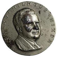 1969 Richard Nixon Inauguration Silver Medal By Medallic Art Co Ralph Menconi