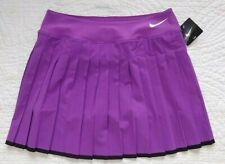 NWT Nike Dri-Fit Victory Tennis Skort Purple/Black Womens Small S Long