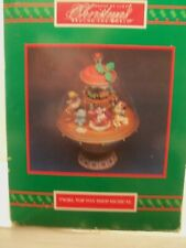 Christmas Around the World Twirl Top Toy Shop Musical