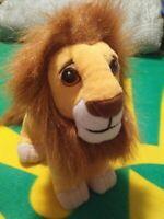 1994 Disney the Lion King adult Simba soft plush toy Authentic Vintage Mattel