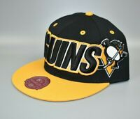 Pittsburgh Penguins Mitchell & Ness NHL Men's Large Fitted Cap Hat - Size: 8 1/2