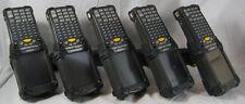 Lot of (5) MC9090-GF0HJEFA6WR Symbol Motorola Laser Barcode Scanners WM 5.0 PDA