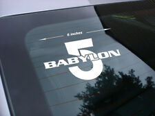 babylon 5 decal sticker babylon5 tv show *fs