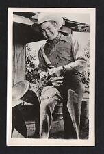 Monte Hale 1940's 1950's Actor's Penny Arcade Photo Card