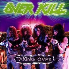 Over Kill - Taking Over Cassette Tape 1987 Atlantic - Play Tested