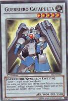 YU-GI-OH! SP13-IT049 GUERRIERO CATAPULTA STARFOIL 1°EDIZIONE  ITALIANO YUGIOH