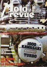 MOTO REVUE 2350 KAWASAKI Z 1000 Turbo ZUNDAPP KS 50 SS APRILIA 125 CR BIMOTA KB1