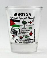 JORDAN LANDMARKS AND ICONS COLLAGE SHOT GLASS SHOTGLASS