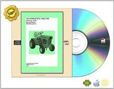 John Deere Service Manual Hydrostatic Tractor 140_SM2093 serial # 30,001