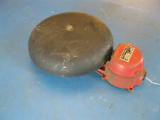 "Vintage 10"" Fire Alarm Bell by ADT 3204-10-6 Electric Protection 6VDC"