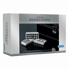 NEW Gibsons Games - Competition Dominoes 9×9 set in a deluxe faux leather case