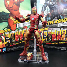 "Marvel Legends Iron Man MK 43 Action Figure Armor Age of Ultron Avengers 6"" Toy"