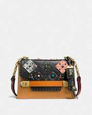 Coach 1941 Swagger Chain Crossbody With Patchwork Prairie Rivets NWT