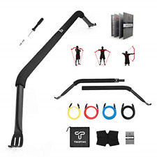 New listing Tikaton Bow Portable Home Gym Resistance Band System Heavy Set, Weightlifting
