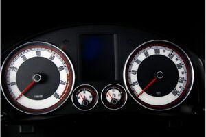 Volkswagen Golf MK5, Jetta, Touran glow gauges dials plasma dials kit tacho glow