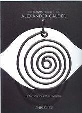 Christie's The Bergman Collection: ALEXANDER CALDER Le Poisson Volant , NY 2014