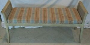 Kindel Tufted Upholstered Bench Grand Rapids Michigan Made in USA