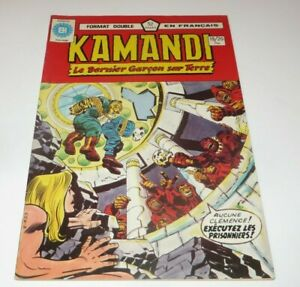 Kamandi The Last Boy on Earth #19-20 FRENCH HERITAGE DOUBLE EDITION HIGH GRADE