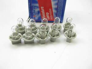 (10) Wagner PC194 Miniature Light Bulb - Printed Circuit T-3 1/4