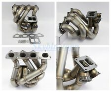 PLM B Series T4 Top Mount Dual Wastegate Turbo Manifold B16 B18 B20 EG6 DC2 EK9
