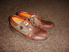 Mens Superb Leather Timberland Boaters / Shoes  -  Size 9