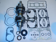 LONG ROD CRANKSHAFT & FULL GASKET KIT 08-10 POLARIS 800 CFI RMK RUSH PRO EDGE IQ