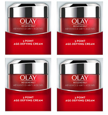 Olay Regenerist Advanced Anti-Ageing 3 Point Age-Defying Cream, .5 oz (4 Pack)