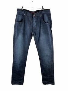 English Laundry Skinny Jeans Mens Size 36 Blue Zip Close Pockets Button Casual