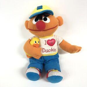 Vtg Tyco Sesame Street Ernie Plush Love Duckies Hh