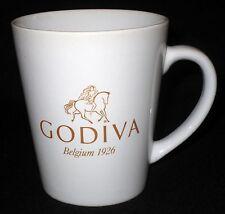 GODIVA Chocolate Belgium 1926 White/Gold Coffee Mug